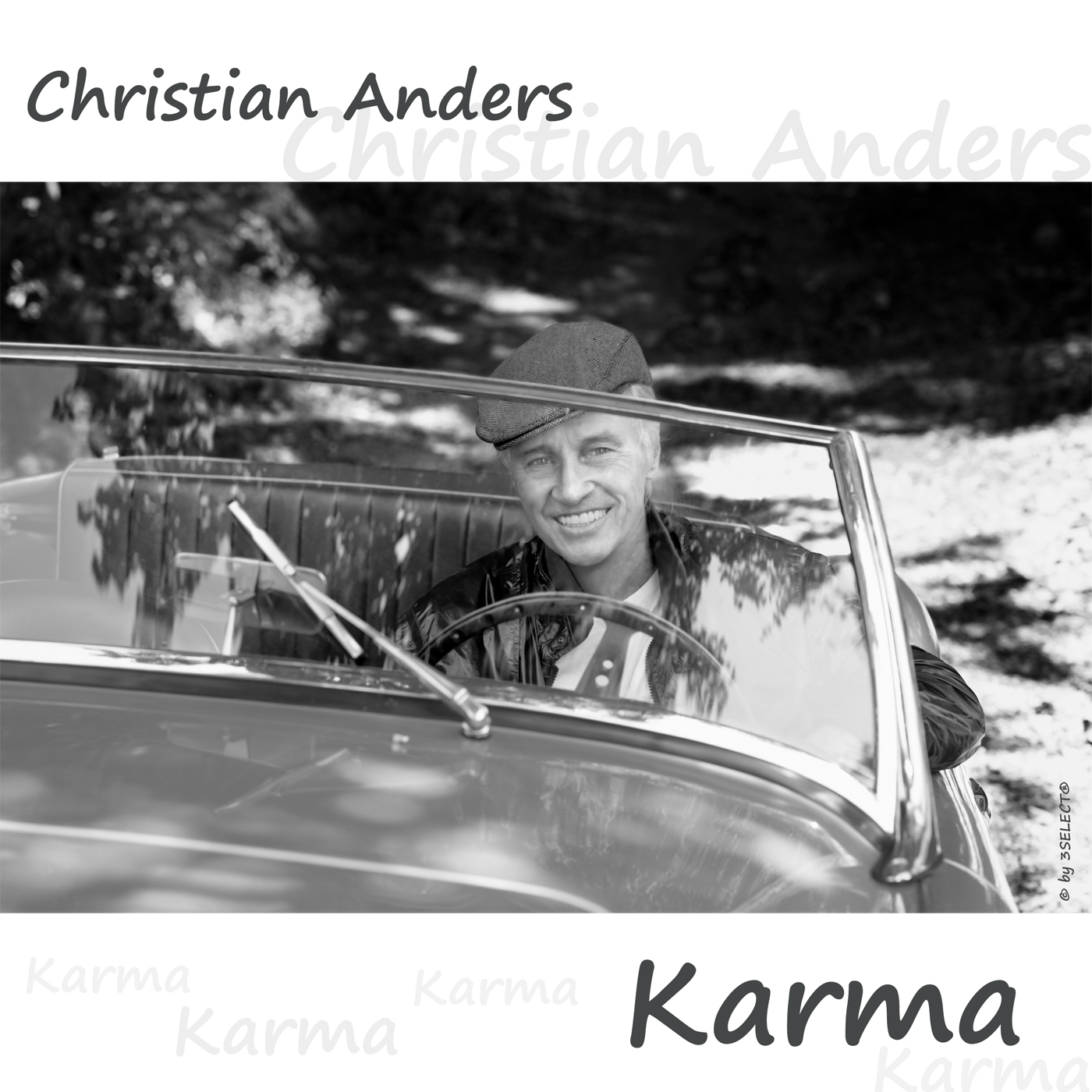 rz Frontcover • Christian Anders • Karma © by 3SELECT® MUSIC